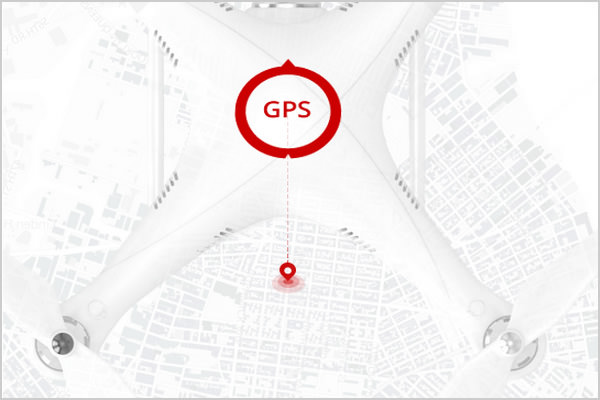 Привязка по GPS Phantom 3 Professional