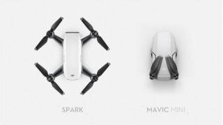 Mavic Mini vs Spark: какой дрон лучше?