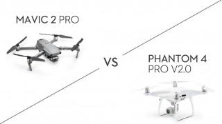 Phantom 4 Pro V2.0 Vs. Mavic 2 Pro: какой квадрокоптер лучше?