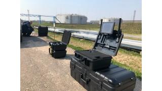 Система мониторинга полетов дронов на заводе НАФТАН