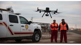 Компания Shell использует квадрокоптеры DJI для инспекций в нефтяной и газовой промышленности.