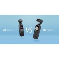 Сравнение DJI Pocket 2 и Osmo Pocket: что нового?