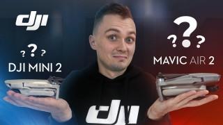 Видеообзор DJI MINI 2 vs Mavic Air 2: Как Выбрать Дрон DJI?