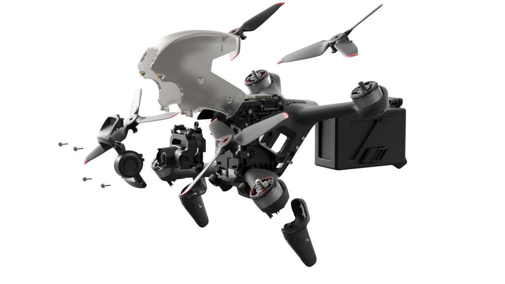 dji fpv drone v razbore