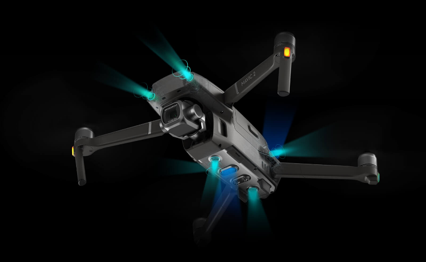 Квадрокоптер DJI MAVIC 2 Enterprise Dual Датчики