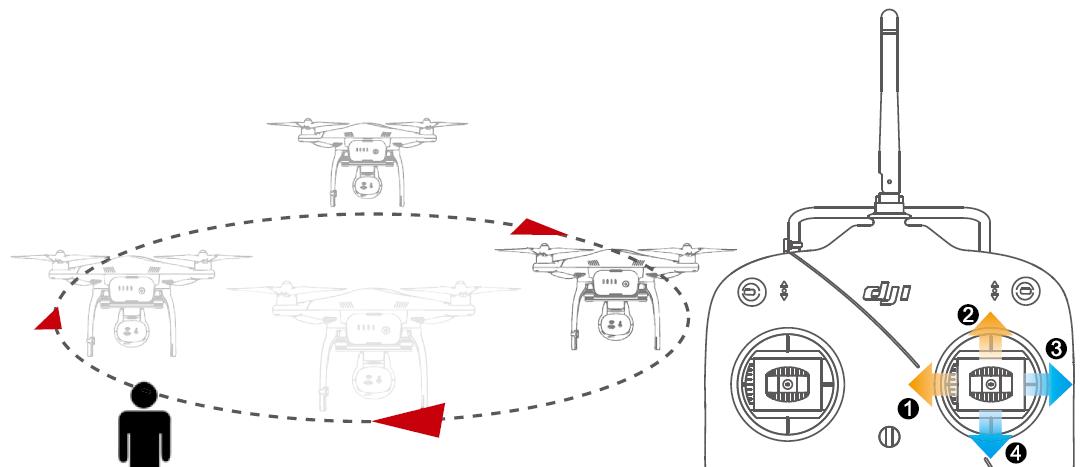 Задание на управление квадрокоптером DJI номер 3