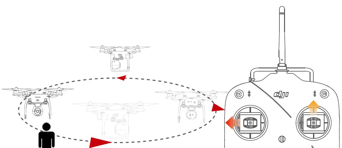 Задание на управление квадрокоптером DJI номер 4