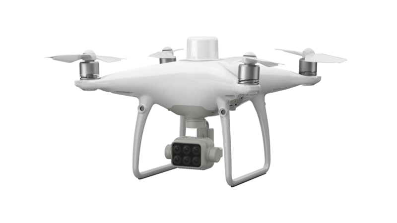 Квадрокоптер DJI Phantom 4 Multispectral