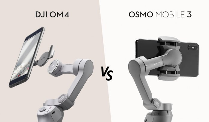 OM 4 vs Osmo mobile 3