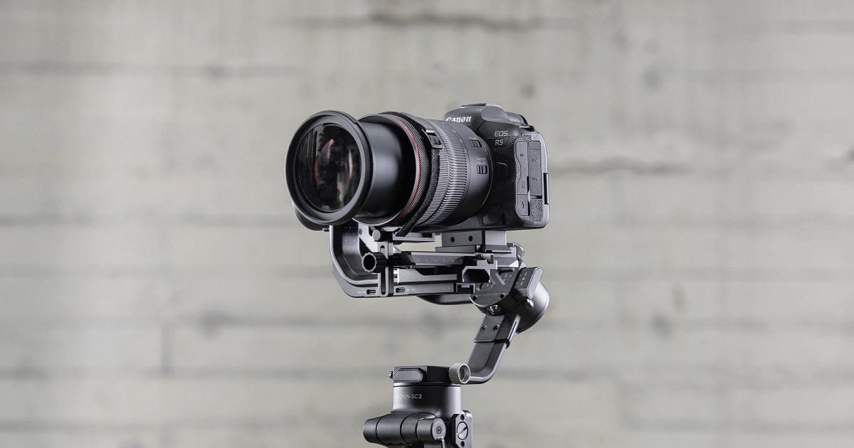 kamera na stabilizatore dji rsc 2