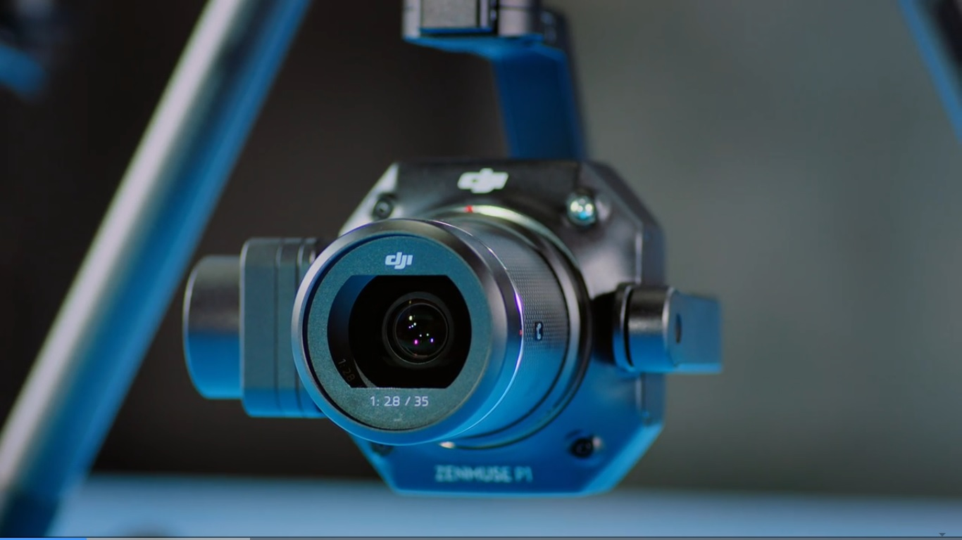 novaya kamera zenmuse p1
