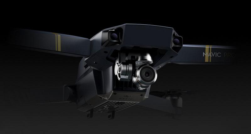 Маленькая, но очень качественная камера в Mavic Pro Combo