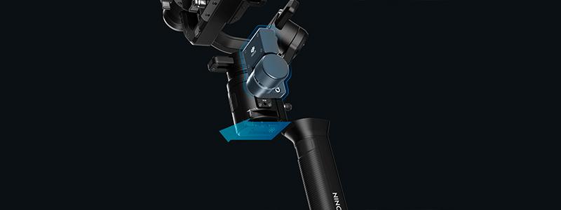 Стабилизатор зеркальных и беззеркальных камер DJI Ronin-S